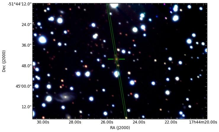 Australia's SKA Pathfinder telescope finds a galaxy